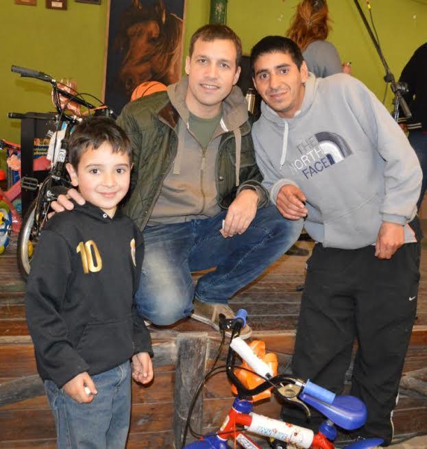 Juan Pablo de Jesús compartió junto a las familias los festejos por el Día del Niño