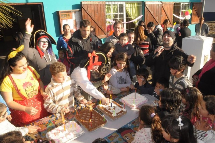 Juan Pablo de Jesús compartió los Cumple Fiesta con niños de Nueva Atlantis