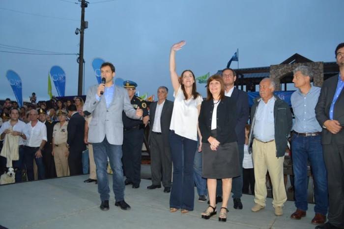 Juan Pablo de Jesús encabezó el lanzamiento del operativo junto a la gobernadora bonaerense María Eugenia Vidal