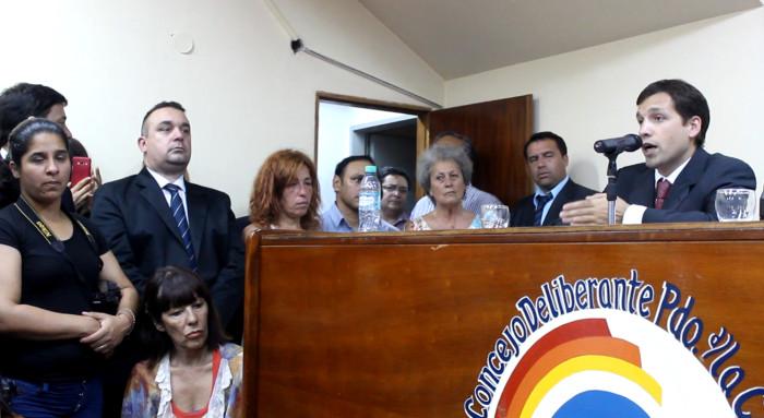 Juan Pablo de Jesús inauguró su nuevo mandato con un discurso en el Concejo Deliberante