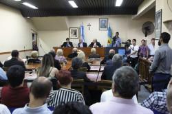 Juan Pablo de Jesús inauguró un nuevo período de sesiones ordinarias del Concejo Deliberante