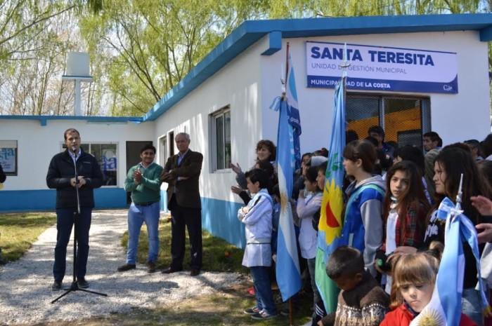 Juan Pablo de Jesús, intendente de La Costa, encabezó la inauguración de la nueva delegación