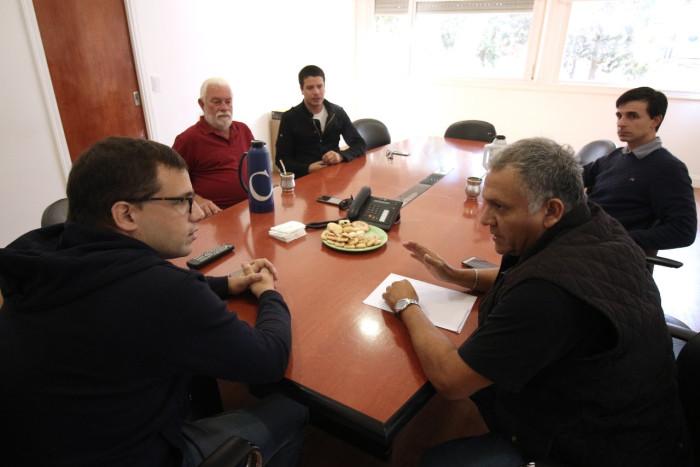 Juan Pablo de Jesús mantuvo un encuentro con miembros de la Casa de Veteranos de Guerra de La Costa