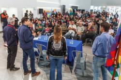 Juan Pablo encabezó el inicio de 28 cursos municipales de formación laboral