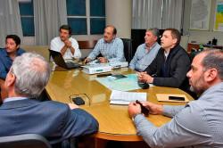 Juan Pablo mantuvo una reunión con el subsecretario de Infraestructura Hidráulica de la Provincia