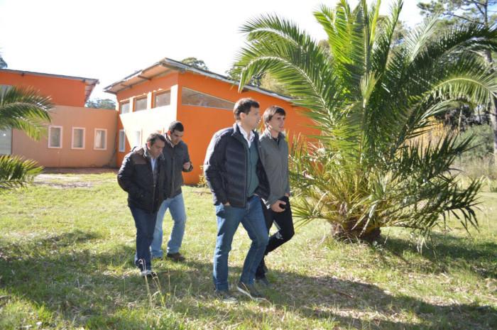 Juan Pablo recorrió obras en San Clemente