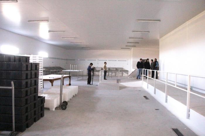 Junto a funcionarios municipales supervisó la etapa final de la obra próxima a ser inaugurada