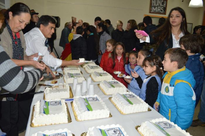 La COsta festejó su aniversario en comunidad