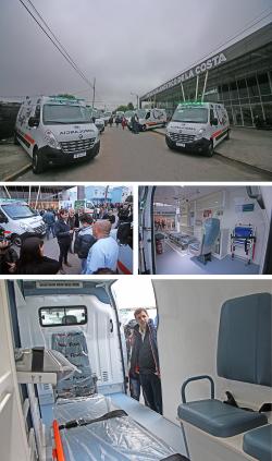 La Costa sumó seis nuevas ambulancias para el sistema de Salud