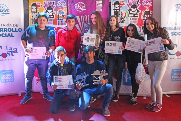 La Escuela 4 de San Bernardo se quedó con el premio al Mejor Corto 2017