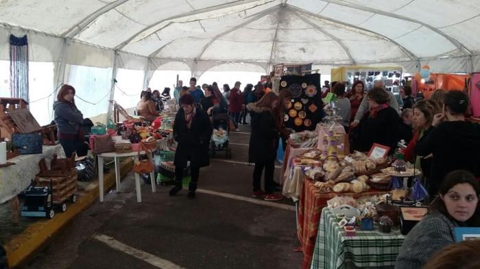 La Feria Pulpo hizo su primera participación en Santa Teresita
