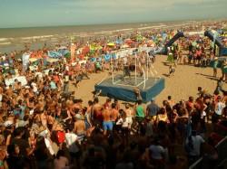 La Fiesta de Carnaval fue uno de los eventos más convocantes del fin de semana largo en La Costa
