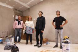 La Municipalidad construye nuevas aulas y realiza una remodelación integral en Bellas Artes