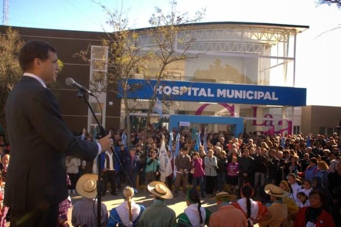 La celebración contó con la Patria como epicentro la inauguración de las obras de ampliación del Hospital de San Clemente