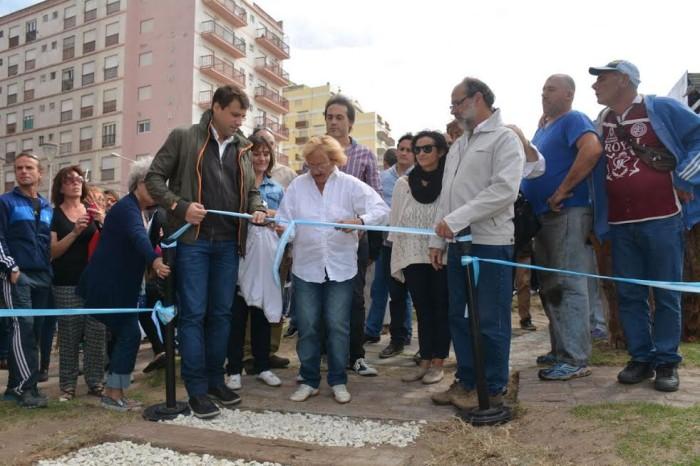 La comuna y vecinos abrieron el Espacio de la Memoria