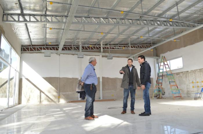 La remodelación incluye una nueva planta para el edificio del Centro Cultural de San Bernardo