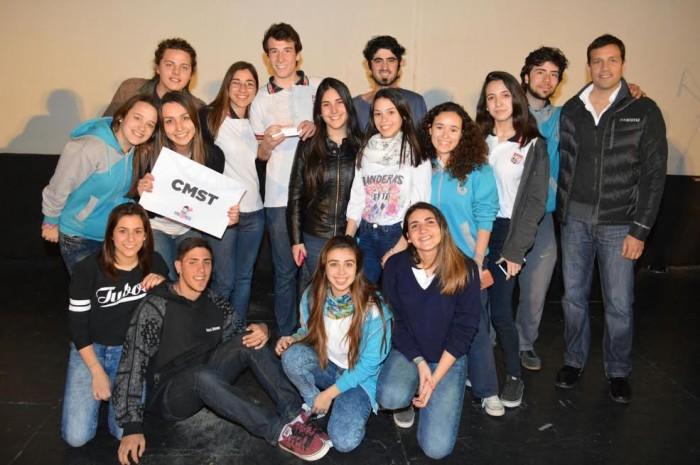 Los alumnos del Colegio Modelo de Santa Teresita fueron uno de los ganadores del viaje a Córdoba