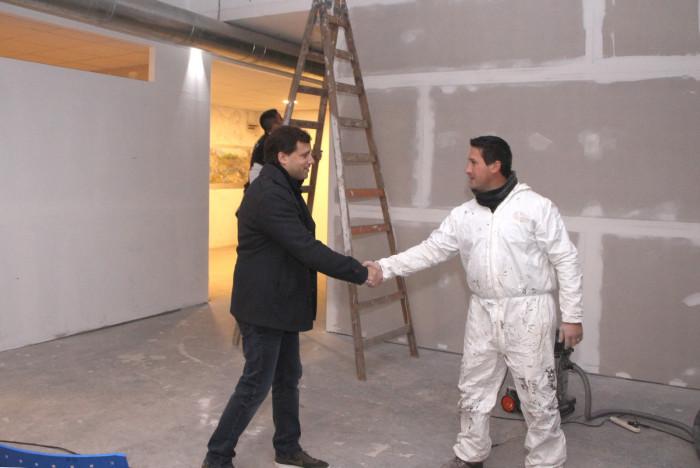 Nuevos salones se construyen en el Centro CUltural