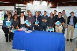 Prestadores de servicios privados firmaron convenios con la comuna local