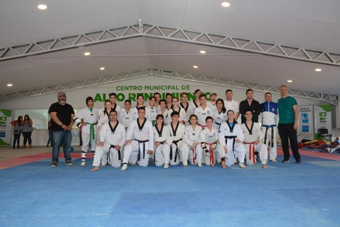 Quedó inaugurada el espacio de Taekwondo en el Centro de Alto Rendimiento