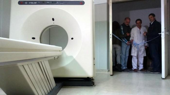 Quedó inaugurada la ampliación del hospital de san clemente y sumó aparatología de última genración