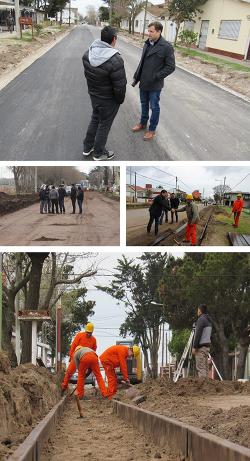 Se intensifican las obras en Las Toninas, Santa Teresita y Mar de Ajó