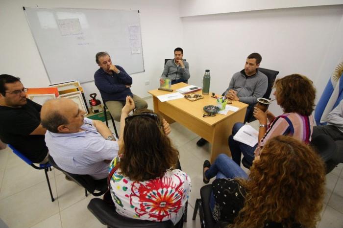 Reunión con representantes del Colegio de Farmacéuticos de La Costa