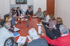 Reunión con Autoridades del Ministerio de Seguridad