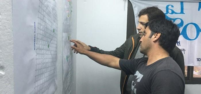 Se coordinaron tareas de mantenimiento y refacciones en la zona