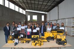 Se entregaron certificados a quienes realizaron las capacitaciones de oficios que realizó la comuna en conjunto con la UOCRA