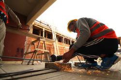 Se están construyendo tres nuevas aulas que estarían finalizadas para el inicio del próximo ciclo lectivo.
