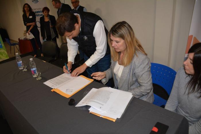 Se firmó un convenio con la Universidad de Mar del Plata para la Licenciatura en Trabajo Social
