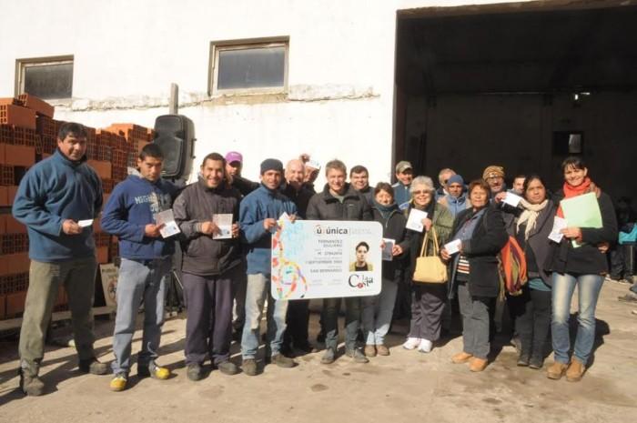 Trabajadores de la UDG de Mar del Tuyú y Las Toninas recibieron su tarjeta Única