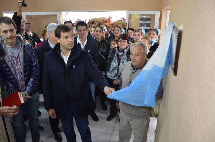 Tras los festejos, el Intendente inauguró un Centro Comunitario