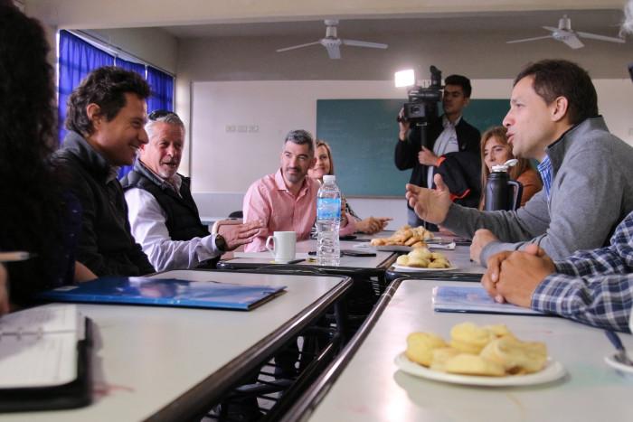 Tras recorrer instituciones, Sánchez Zanny y De Jesús intercambiaron experiencias de programas educativos