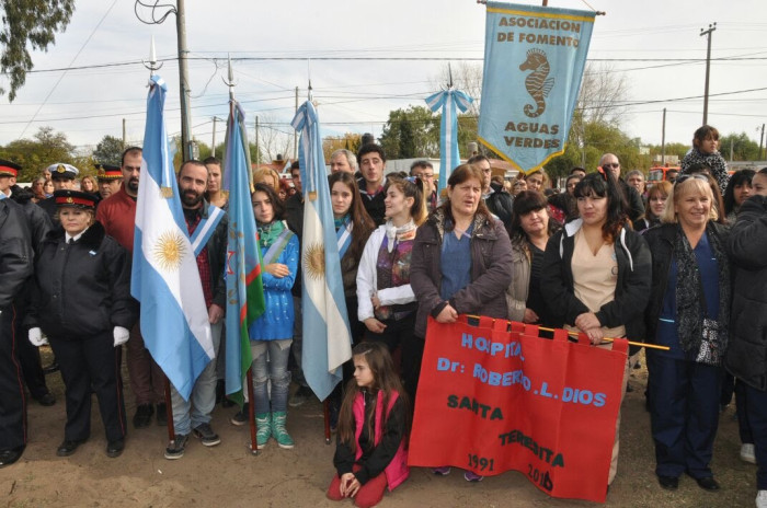 Vecinos e instituciones participaron de la festividad realizada en San Clemente