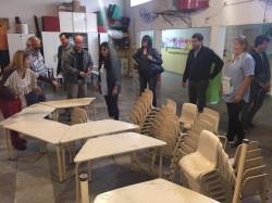 se consiguió mobiliario para 34 aulas, lo cual permitió cubrir toda la demanda que había en el distrito