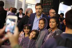 vecinos de distinas localidades acompañaron el acto de inauguración