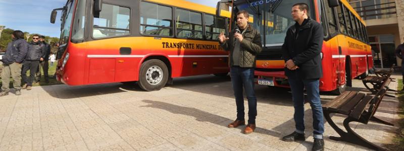 La Costa sumó colectivos al transporte público
