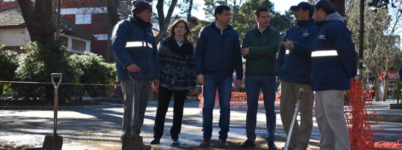 La Municipalidad repavimenta la Avenida San Bernardo