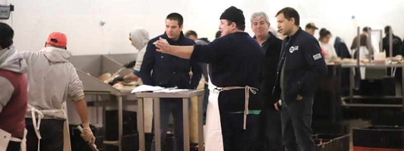 La Terminal Pesquera prepara su primera exportación a Francia