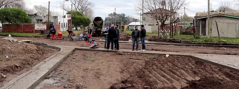 Nuevos trabajos de asfalto en Santa Teresita