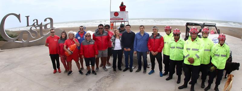 Se lanzó el Operativo de Seguridad en playa 2019/2020